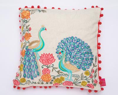 Mor natural cushion cover thumb