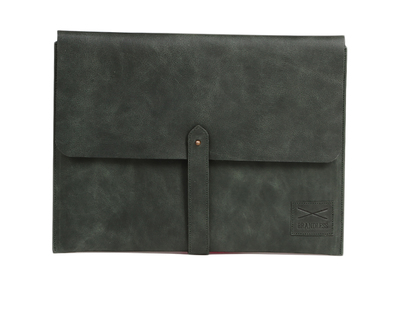 Laptop folio dark green thumb