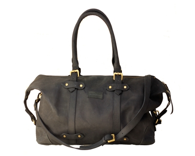 The weekender duffel black thumb