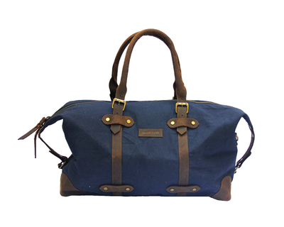 The weekender duffel blue thumb