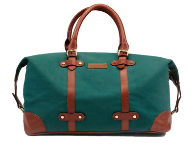 The weekender duffel green thumb