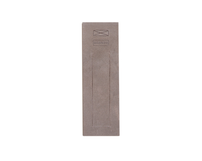 Leather bookmark grey thumb