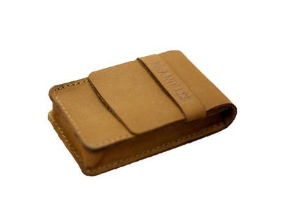 Cigarette case tan thumb