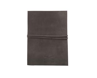 Leather daybook grey thumb