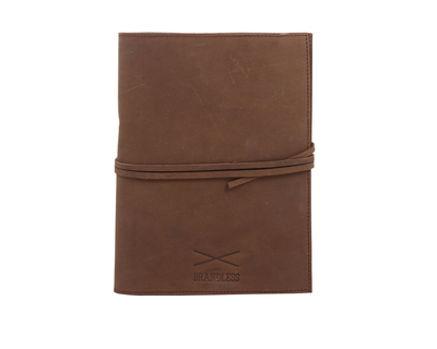 Leather daybook brown thumb