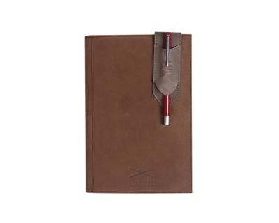 Pen holder bookmark grey thumb