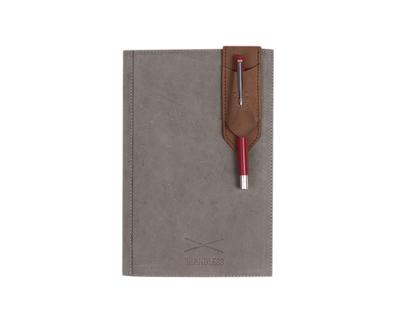 Pen holder bookmark brown thumb