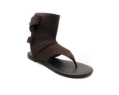 Arya brown convertible sandals thumb