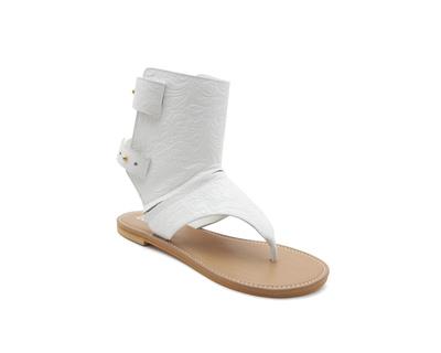 Arya white convertible sandals thumb
