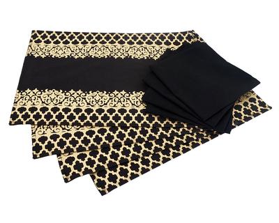 Tanawada black table mat thumb