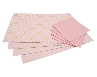 Salawas bright tesselation print table mat thumb