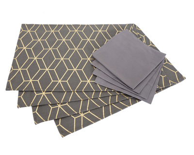Salawas dark print table mat thumb