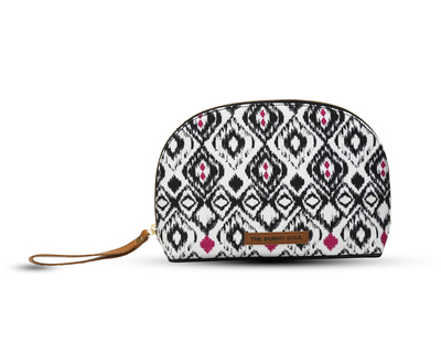 Ikat printed pouch thumb