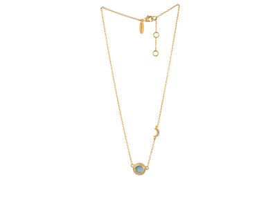Rock routine blue topaz necklace thumb