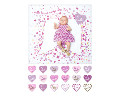 Baby s first year blanket and card set brave wings 373 103 lj584 thumb