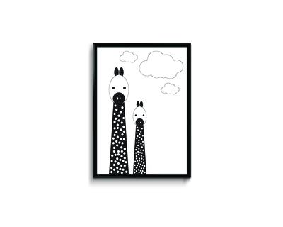 Annie and her lil friends giraffe thumb