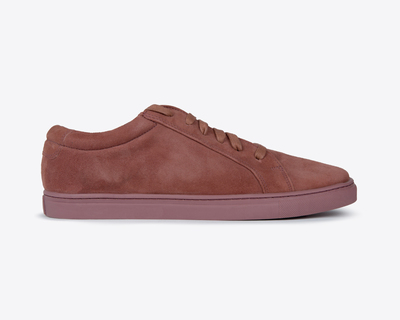 Leather sneaker brown classic thumb