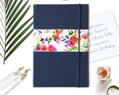 Pop collective notebook navy blue thumb