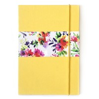 Pop collective notebook yellow small
