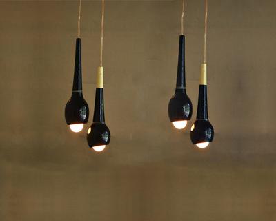 Baabui baadi wooden pendant lamp thumb