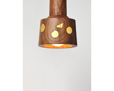 Illinodi wooden pendant lamp thumb