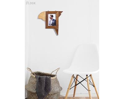 Nakh chadi wooden bird photo frame thumb