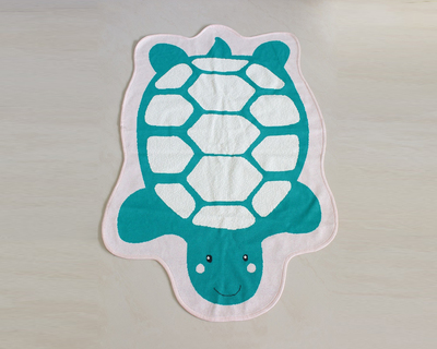 Turtle kids room rug thumb