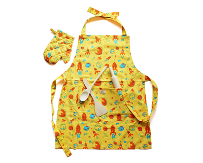 Lil chef s apron set thumb