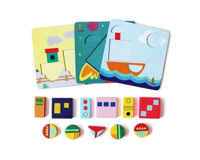 Shape board puzzle thumb