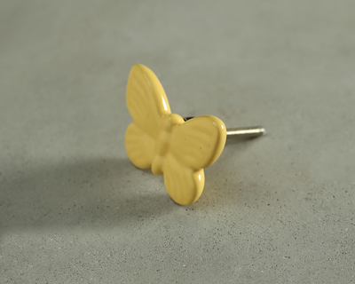 Yellow fly high butterfly knob thumb