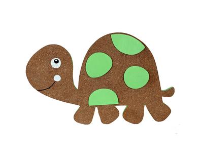 Tortoise pin board thumb
