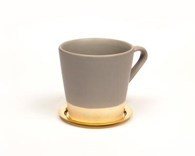 Basik coffee mug grey thumb