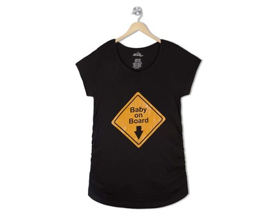 Baby on board maternity tee thumb