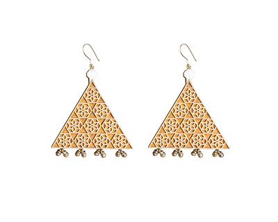 The tribal tradition earrings thumb