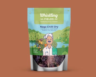 Naga chilli dry pack of 2 thumb