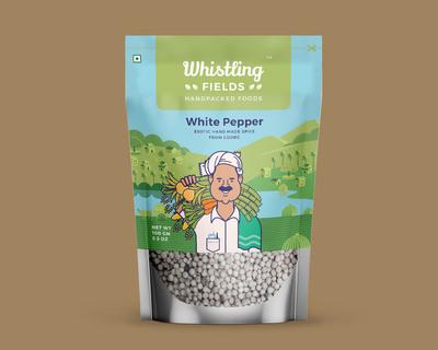 White pepper thumb