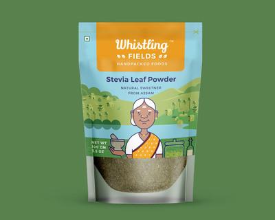 Stevia leaf powder pack of 2 thumb