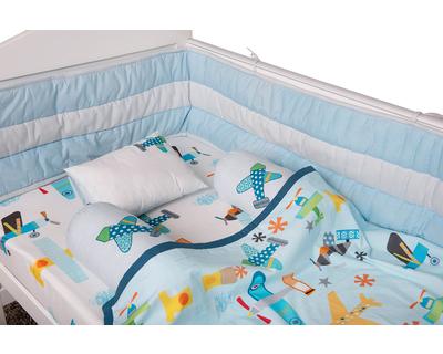 Just plane cute cot bedding set thumb