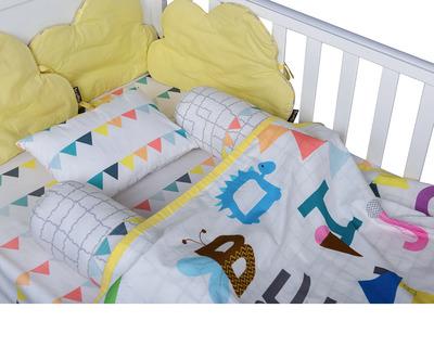 Abc cot bedding set thumb