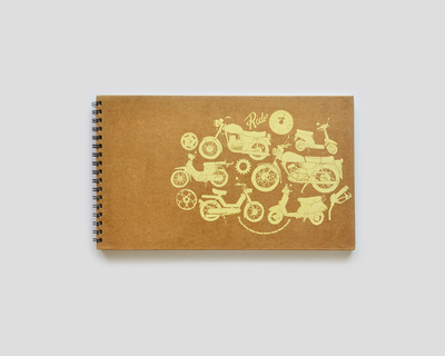Golden rides sketchbook thumb