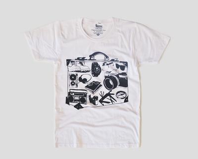Travel printer t shirt thumb