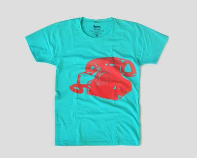 Telephone printer t shirt thumb