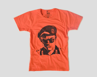 Army man printer t shirt thumb