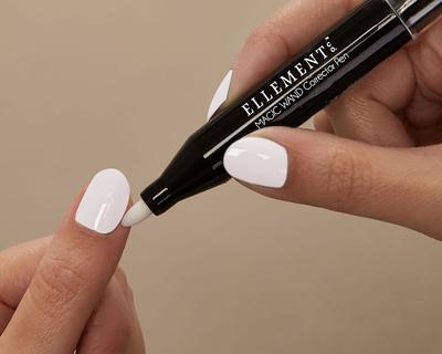 Corrector pen thumb