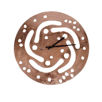 Big crank shaft clock copper small