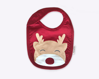 Masilo red nosed reindeer classic bib thumb