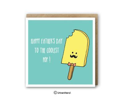 Dad stuff papa popsicle greeting card thumb