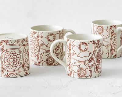 Comfort staples coffee tea mugs set of 4 thumb