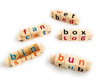 Phonics toy set of 5 thumb