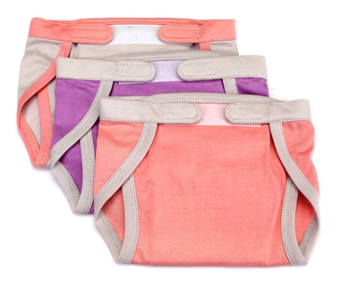 Set of 3 nappies pink thumb